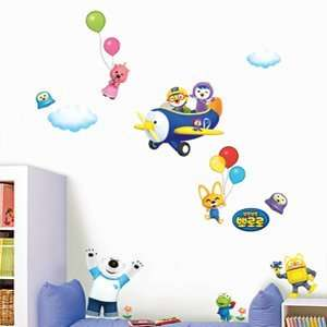 Sticker   PORORO, FLYING WITH FRIENDS 50 PPS58509: Everything Else