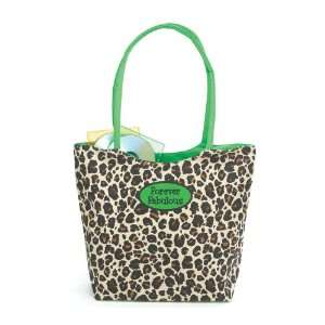Forever Fabulous Leopard Print Tote Bag Canvas