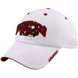 Arkansas Razorbacks White Frat Boy Hat