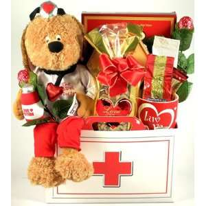 House Calls, Valentines Day Gift Basket Grocery & Gourmet Food