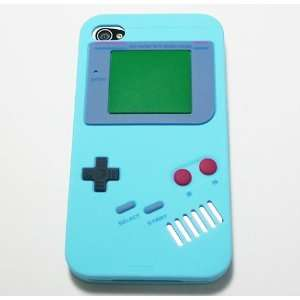 Light Blue Nintendo Game Boy Gameboy Style Silicone Case