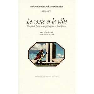 la ville Etudes de litterature portugaise et bresilienne (Centre de