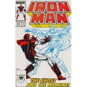 Iron Man (1st Series) #219: David Michelinie, Bob Layton