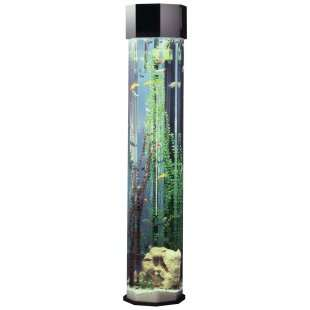 Octagon Aqua 55 Gallon Tower Aquarium   Fish Tank Aquariums at
