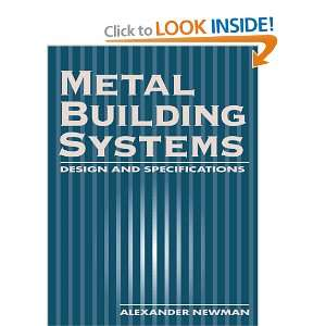 Metal Building Systems Design and Specifications