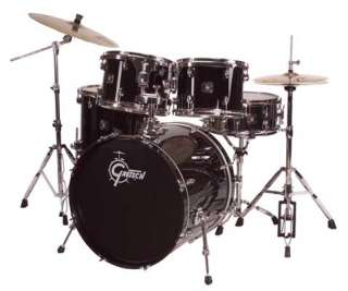 Gretsch Black Hawk 5 piece Drum Set   Liquid Black