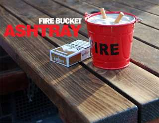 Fire Bucket Ashtray – Suck UK – funky ash tray from Red Candy