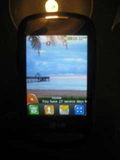MINT LG 800G   Black (Net10) Cellular Phone!! CLEAN ESN
