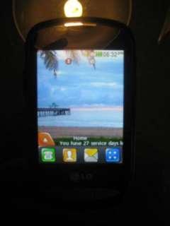 MINT LG 800G   Black (Net10) Cellular Phone!! CLEAN ESN