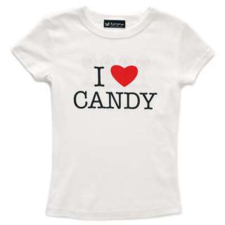 Dylans Candy Bar I Love Candy Tee   Youth