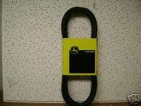 John Deere Mower Drive Belt STX38 Yellow Deck