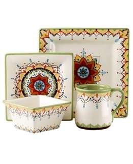 Vida by Eva Mendes Dinnerware, Catalina 4 Piece Place Setting   Casual