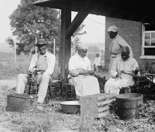 1920 photo Slave story