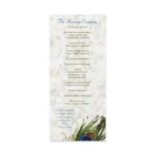 Peacock Feathers Wedding Invitations from Zazzle