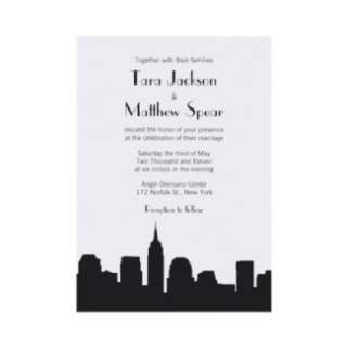 wedding invitation by oddowl browse other nyc wedding invitations