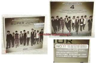 Korea Super Junior Bonamana Taiwan Ltd CD+DVD |