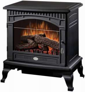 Traditional Black Electric Fan Forced Stove Heater 781052046917