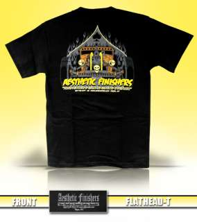 Aesthetic Finishers Flathead Engine Hot Rod T Shirt