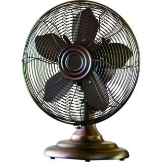 Breeze 12 Retro Table Fan, Bronze Heating, Cooling, & Air Quality