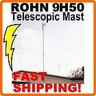 Telescopic Antenna Mast Roof Base Plate Mount ROHN items in Cable