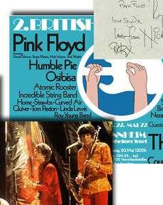 Pink Floyd Syd Barrett Memorabilia Poster & Autographs