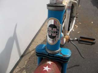 and Stripes Boys Muscle Bike Banana Seat Sissy Bar Bike 1976
