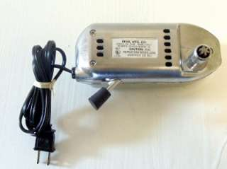 RIVAL ELECTRIC FOOD MEAT SLICER MOTOR PART ONLY 1101E/7