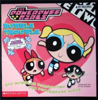 The Powerpuff Girls 8X8 #2 Bubble Trouble Book NEW