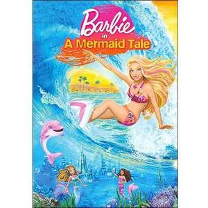Barbie In A Mermaid Tale, Barbie Mermaid DVD, Barbie Animated Movie