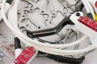 HYGIA SLP Carbon Hydraulic Disc Brake,White