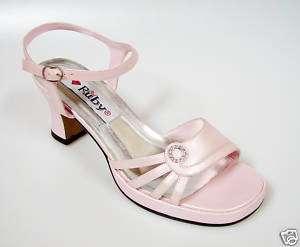 Pink Bridal Wedding Prom Party Dress Platform Shoes