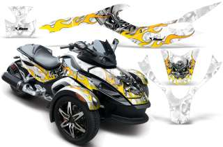 AMR DECAL KIT STICKERS CAN AM BRP CANAM SPYDER PART MHW