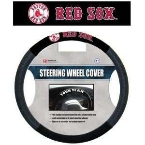Boston Red Sox Mesh Steering Wheel Cover
