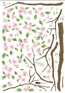Cherry Blossom Wall Vinyl Art Removable Decor Sticker