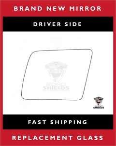 88 01 Chevy/GMC Pickup C/K Truck Driver Mirror Glass