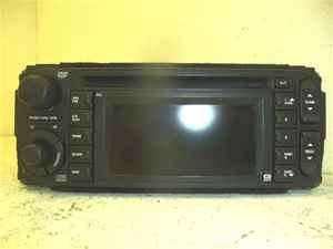 04 07 Dodge Chrysler Jeep CD Navigation Radio LKQ