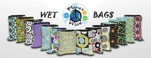 PLANET WISE Cloth Diapers Reusable Wet Bags ALL SIZES