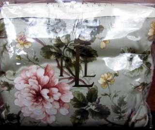 YORKSHIRE ROSE Floral Full Queen Duvet Comforter Cover $335