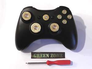 Xbox 360 Controller Full Set Of Bullet Buttons Brass Colour + T8 ,No