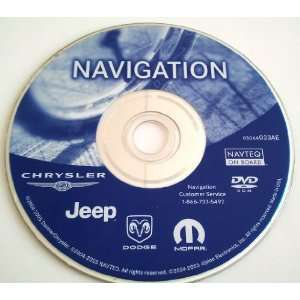 AE Dodge Chrysler Jeep OEM Navigation DVD Disc Disk GPS