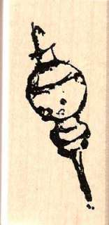 CHRISTMAS Ornament rubber stamp Art Impressions *NEW*