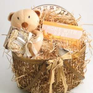 Cooking With Baby Boy Gift Basket Baby