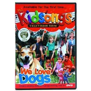 Kidsongs TV Show We Love Dogs DVD Benefits Adoption