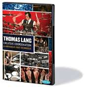 Thomas Lang   Creative Coordination Drum Lessons 3 DVD