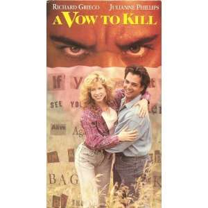 Vow to Kill [VHS]: Richard Grieco, Julianne Phillips, Gordon Pinsent