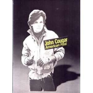 JOHN COUGAR MELLENCAMP 1982 TOUR CONCERT PROGRAM BOOK