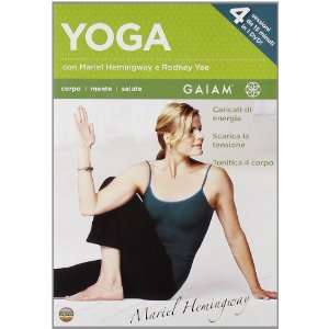 Yoga Con Rodney Yee E Mariel Hemingway (Dvd+Booklet): Movies & TV