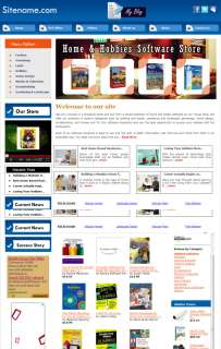 Money Making Home and Hobbies Software Store Information Website for