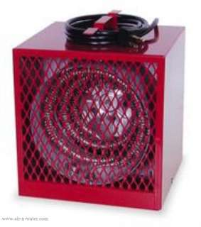 NEW Electric Garage Shop 13 000 BTU Heater Fan Forced 098319862006