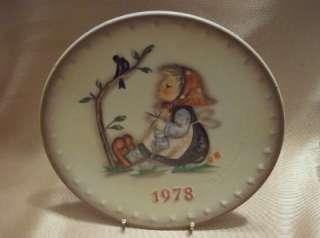 Hummel Goebel West Germany 1978 Happy Pastime Plate